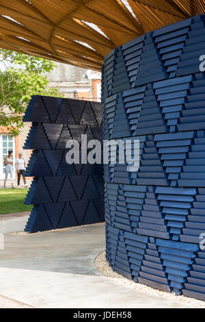London, UK. 20 June 2017. Diebedo Francis Kere, the award-winning architect from Gando, Burkina Faso, has designed - Stock Photo