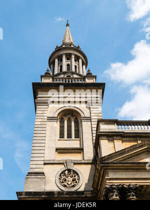 All saints church, now Lincoln College Library, Oxford, Oxfordshire, UK, GB. - Stock Photo