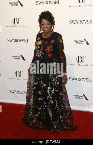 NEW YORK-MAY 22: Star Jones attends the American Ballet Theatre 2017 Spring Gala at David H. Koch Theater at Lincoln - Stock Photo