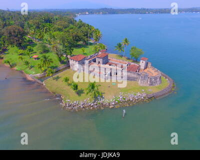 Castillo de San Felipe, Rio Dulce, Guatemala - Stock Photo