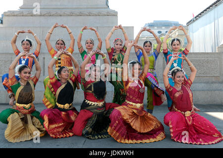 London UK 20 June 2017 Akademi performance form this well loved English dance group specialising  in classical,contemporary - Stock Photo