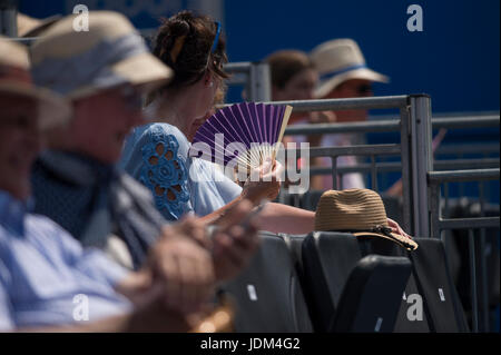 The Queen's Club, London, UK. 21st June, 2017. Day 3 of the 2017 Aegon Tennis Championships in west London, centre - Stock Photo