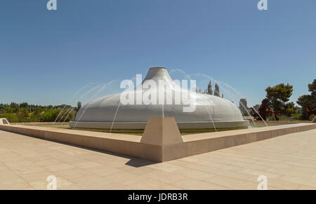 The Shrine of the Book containing the Dead Sea Scrolls, Israel Museum, Jerusalem, Israel, Middle East. - Stock Photo