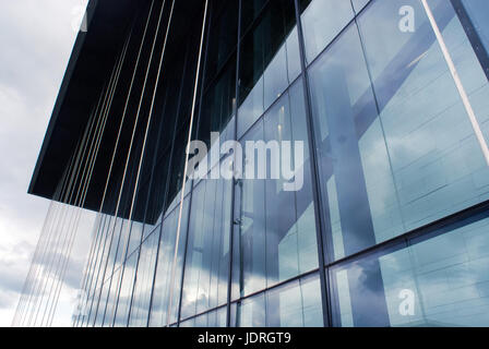 Detail of windows, Middlesbrough Institute of Modern Art MIMA - Stock Photo