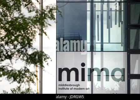 Middlesbrough Institute of Modern Art MIMA - Stock Photo