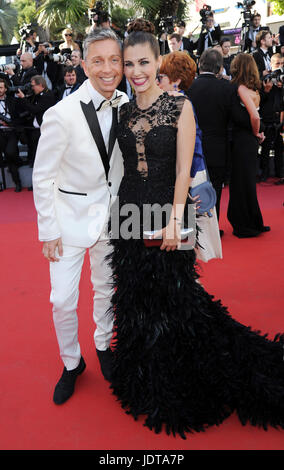 70th annual Cannes Film Festival - '120 Beats per Minute' - Premiere  Featuring: Gianluca Mech, Aida Flix Where: - Stock Photo