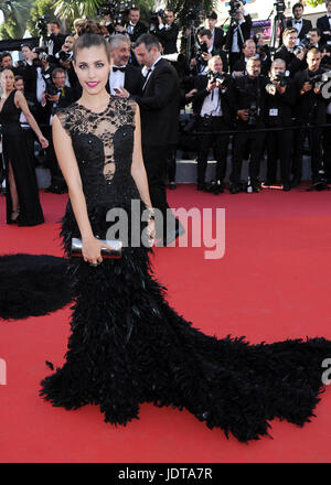 70th annual Cannes Film Festival - '120 Beats per Minute' - Premiere  Featuring: Aida Flix Where: Cannes, France - Stock Photo