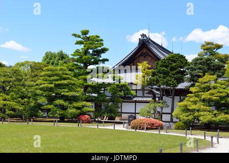Honmaru Palace and Garden, Nijo Castle, Kyoto, Japan - Stock Photo