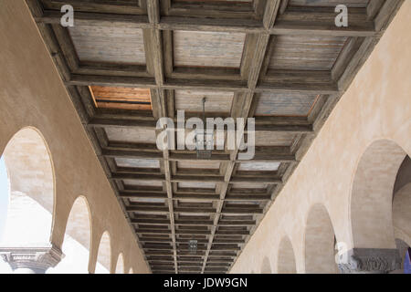 Ceiling at City Hall; Stockholm; Sweden - Stock Photo