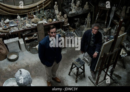 FINAL PORTRAIT (2017)  ARMIE HAMMER  GEOFFREY RUSH  STANLEY TUCCI (DIR)  OLIVE PRODUCTIONS/MOVIESTORE COLLECTION - Stock Photo
