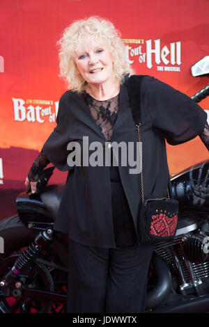 Petula Clark at Bat Out of Hell - The Musical, Press Night at the London Coliseum - 20 June 2017 - Stock Photo