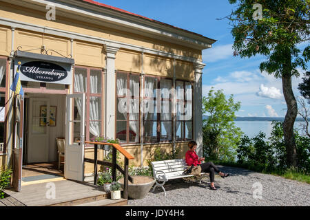 Abborreberg recreational area in Norrkoping. Norrkoping is a historic industrial town in Sweden. - Stock Photo