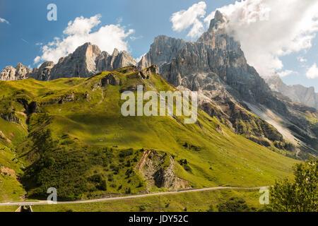 Passo Rolle, Dolomites, Alps, Italy - Stock Photo