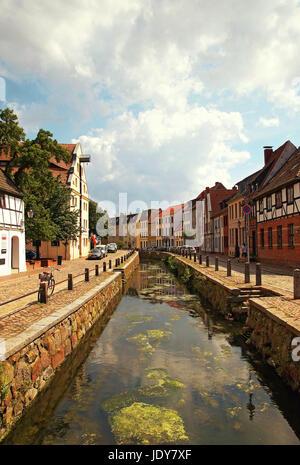 Hansestadt Wismar Deutschland / Hanseatic City Wismar Germany - Stock Photo