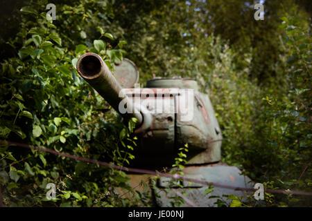 rusty tank - Stock Photo