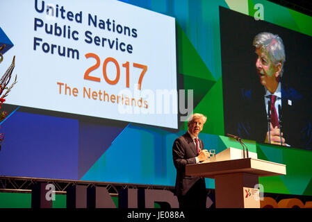 The Hague, Netherlands. 22nd June, 2017. H.E. Mr. Ronald Plasterk, former Minister of the Interior and  Kingdom - Stock Photo