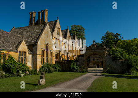 Stanway House in Gloucestershire, England. - Stock Photo