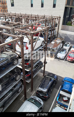 A Multi Level Stacked Car Parking System In Delft Netherlands