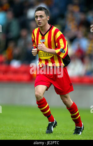 JAMIE MITCHELL PARTICK THISTLE FC FIRHILL GLASGOW SCOTLAND 03 August 2002 - Stock Photo