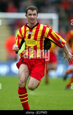 PAUL WALKER PARTICK THISTLE FC FIRHILL GLASGOW SCOTLAND 03 August 2002 - Stock Photo