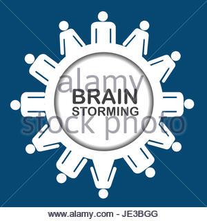 Brainstorming icon - Stock Photo