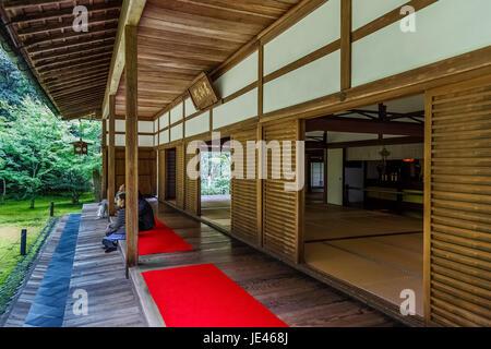 Koto-in Temple in Kyoto, Japan - Stock Photo