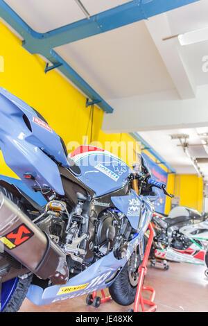Trofeo di motociclismo: Città di Otricoli 2017 - Stock Photo