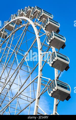 Ferris Wheel at Andorra la Vella, Andorra - Stock Photo
