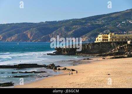 Praia do Guincho and Serra de Sintra. Cascais, Portugal