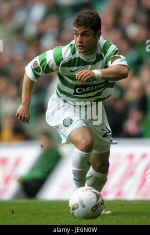 SHAUN MALONEY GLASGOW CELTIC FC PARKHEAD GLASGOW SCOTLAND 21 October 2006 - Stock Photo