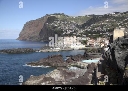 Portugal, Madeira, Camara de Lobos, - Stock Photo