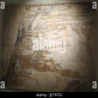 Beccafumi, cartone per pavimento duomo diena, 1529-1531, 02 - Stock Photo