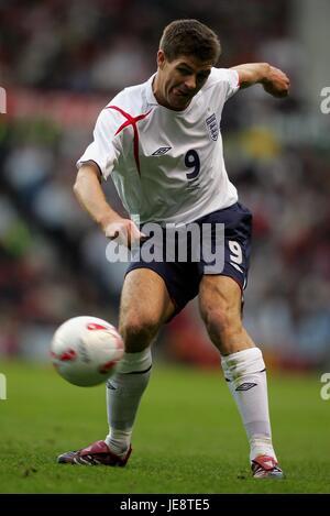 STEVEN GERRARD, ENGLAND and LIVERPOOL FC, ENGLAND V HUNGARY, 2006 - Stock Photo