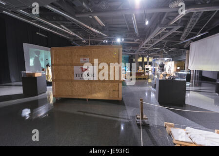 Bilbao, Spain - January 4, 2017: Titanic exhibition on January 4, 2017 in Bilbao, Basque Country, Spain. - Stock Photo