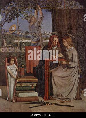 Dante Gabriel Rossetti 004 - Stock Photo