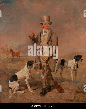Benjamin Marshall - Portrait of a Sportsman, Possibly Richard Prince - - Stock Photo