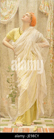 Albert Joseph Moore - Canaries - - Stock Photo
