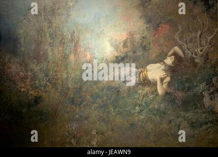 Ary Renan. Sapho. 1893 - Stock Photo
