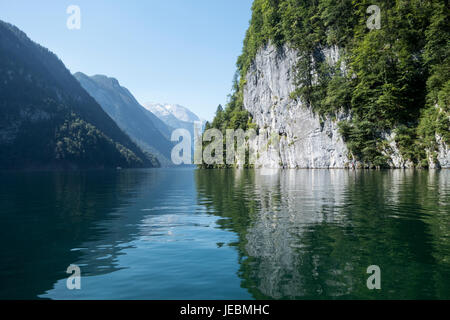 Asia mountain water waterways - Stock Photo