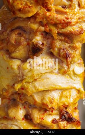 how to prepare chicken shawarma meat