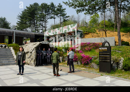 Korean Demilitarized Zone (DMZ) - Stock Photo
