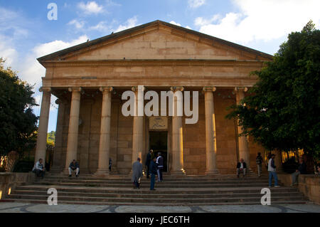Greek temples now the mosque el Rahmane, Cherchell, Algeria, Africa, - Stock Photo
