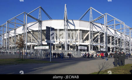 Germany, North Rhine-Westphalia, brook Mönchenglad, Borussia park, stadium, visitor, - Stock Photo