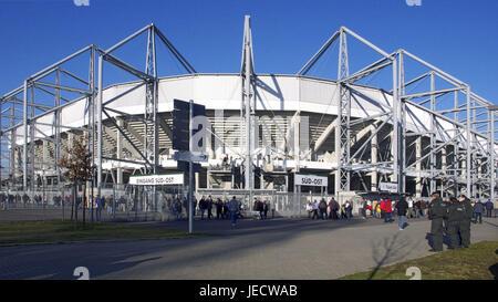 Germany, North Rhine-Westphalia, brook Mönchenglad, Borussia park, stadium, visitor, - Stock Photo