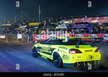 Sydney, Australia - 24th June 2017:  2017 Drift Allstars Series Round 2 hosted by Hi-Tec Drfiting Australia at Sydney - Stock Photo