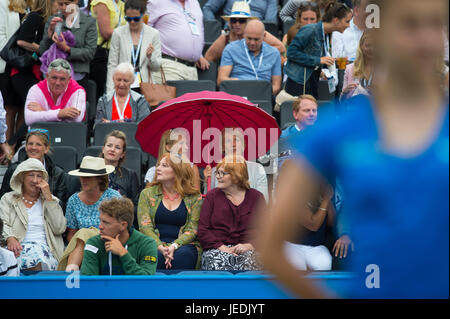 The Queen's Club, London, UK. 24th June, 2017. Day 6 of the 2017 Aegon Championships at the west London club, semi - Stock Photo