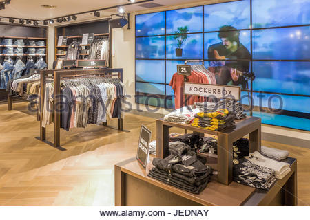 NETHERLANDS - THE HAGUE - JUNE 23, 2017: Store from the The Sting chain in the center of The Hague, Netherlands. - Stock Photo