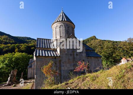 Haghartsin Monastery in Dilijan, Armenia. - Stock Photo