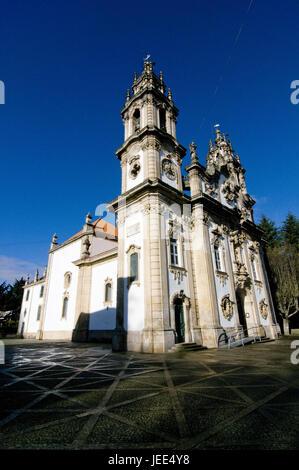 Church Nossa Senhora dos Remédios, Lamego, Portugal, - Stock Photo