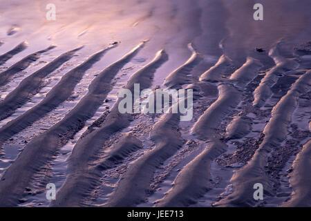 Beach, island Spiekeroog, the East Frisians, East Friesland, Friesland, Lower Saxony, the North Sea, North Sea island, - Stock Photo